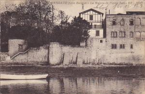 France Hendaye La Maison de Pierre Loti 1927