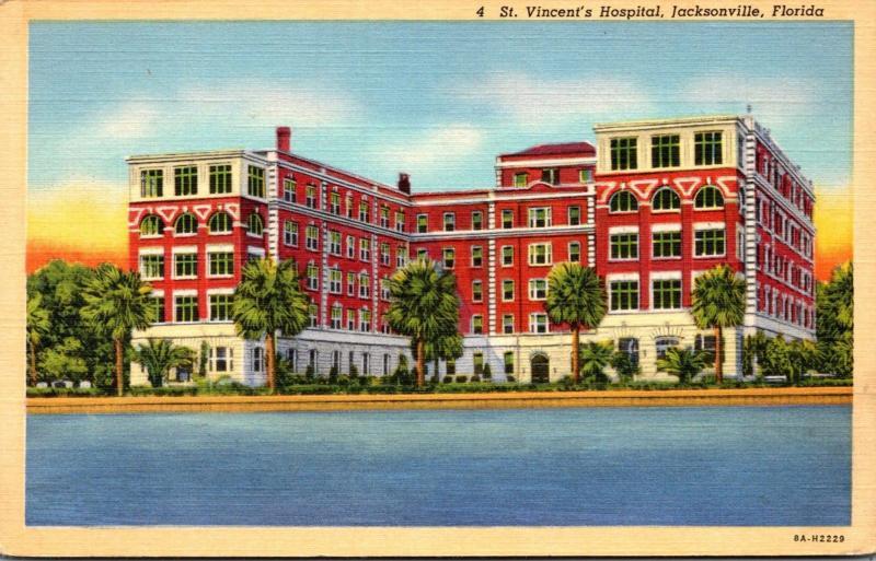 Florida Jacksonville St Vincent's Hospital Curteich