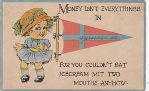 New York Syracuse Money Isn't Everything Pennant Series 1917