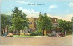High School, Mattoon, Illinois, IL, Linen