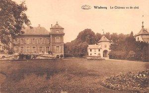 Le Chateau vu de cote Wisbecq France Unused