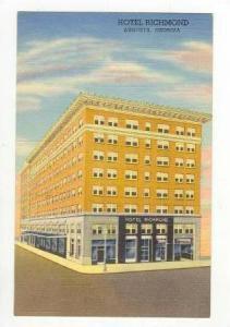 Hotel Richmond, Augusta, Georgia, 1930-1940s