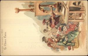 Paris 1900 Exposition Universelle Printing Press Imprimarie Robert Estienne PC
