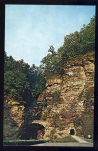 Watkins Glen, New York/NY Postcard, Stone Gorge/Entrance
