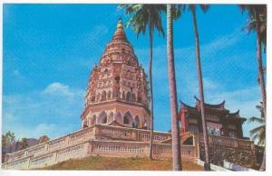 Ayer Itam Pagoda, Penang, 50-60s Malaysia