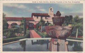 California Mission San Juan Capistrano Curteich