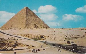 The Great Pyramid At Giza, Egypt, Africa, 1940-1960s