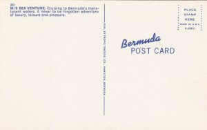 BERMUDA, 40-60s; M.S. Sea Venture Cruising To Bermuda's Translucent Waters