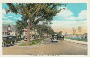 GLOUCESTER , Massachusetts , 1900-10s ; Western Avenue