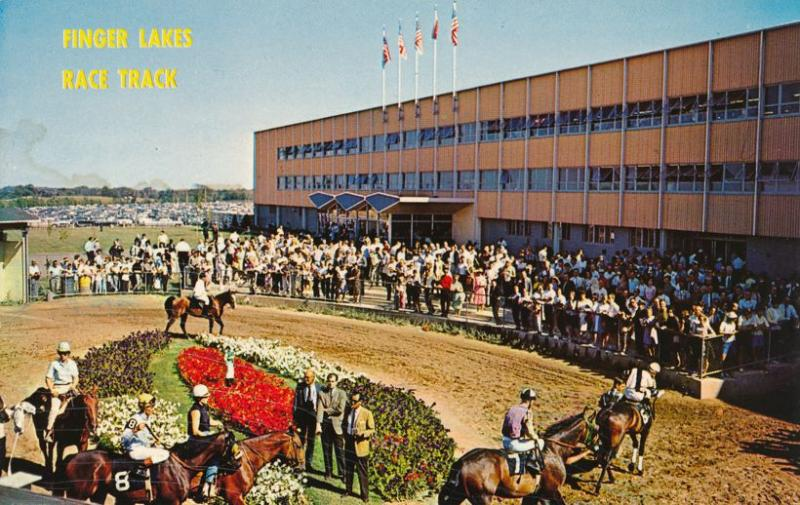 Paddock At Finger Lakes Race Track Farmington Ny New York Near