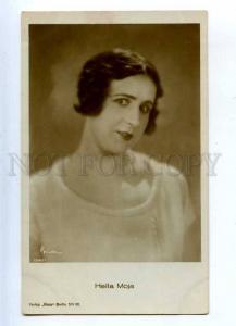 203410 Hella MOJA German MOVIE Film Actress OLd BINDER PHOTO