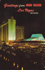 Nevada Las Vegas MGM Grand Hotel 1974