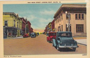 Virginia Salem Main Street Looking West