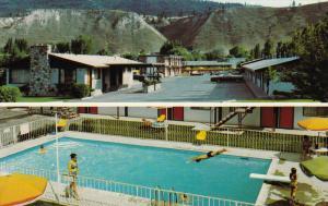 El Camino Motel, Swimming Pool, Kamloops, British Columbia, Canada, 40´s-60´s