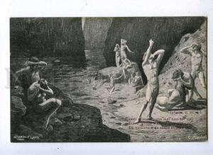 202428 DANTE Inferno NUDE Men by MUCCIOLI Vintage ALTEROCCA