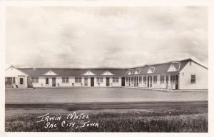 RP: Irwin Motel , SAC CITY , Iowa , 1940s