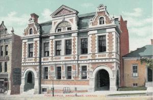 BROCKVILLE , Ontario , 1900-10s ; Post Office