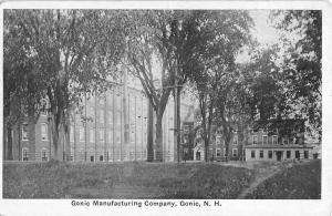 Gonic New Hampshire Manufacturing Company Street View Antique Postcard K35904