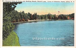 Camp & Bathing Beach Utica NY Unused
