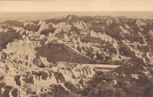 Castle Ruins Badlands Nat Monument South Dakota Albertype