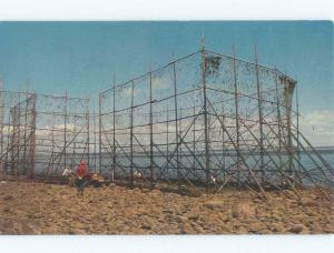 Pre-1980 FISH WEIR Bay Of Fundy - Yarmouth & Wolfville & Truro NS E7673