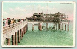 Atlantic City~Lifting the Nets~Young's Million Dollar Pier~Detroit Pub Co~12760