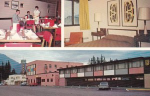 HOPE, British Columbia, Canada, 1940-60s; 3-Views, Hope Hotel, Classic Cars