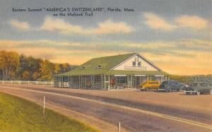 Florida Massachusetts Eastern Summit Street View Antique Postcard K65141