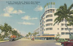 MIAMI BEACH , Florida, 1930-40s ; Lincoln Road