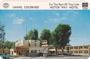 Motor Way Motel, Lamar, Colorado, 1940-1960s