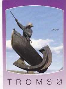 Tromso,Fangst- og fiskermonumentet, Norway,50-70s