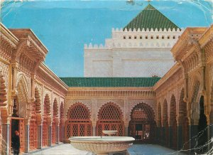 Morocco Postcard Rabat Mohammed V Mausoleum Interior Courtyard of the Mosque