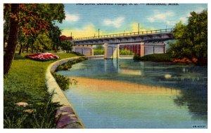 Minnesota  Moorehead Red River , Bridge