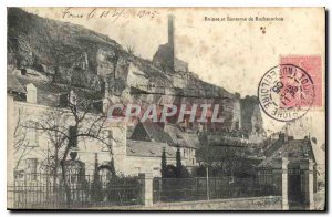 Postcard Ancient Ruins and Lantern Rochecorbon