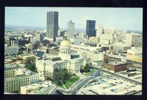 Atlanta,Georgia/GA Postcard, View Of Skyline, 1960's?