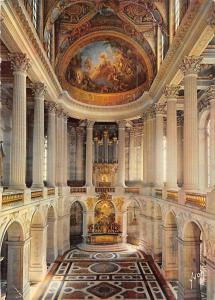 France Chateau de Versailles La Chapelle Royale Interior Kapelle