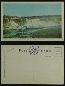 Niagara Falls in winter c 1940s