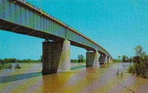 Louisiana Barksdale-Bossier Bridge Connecting Shreveport With Barksdale Air F...