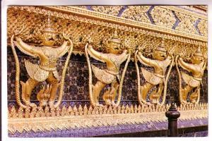 Kuruts, Lobby Wat Phra Keo, Bangkok, Thailand