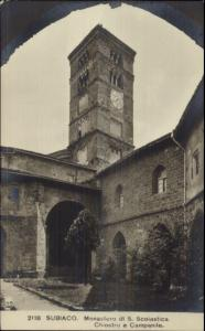 Subiaco Italy c1910 Real Photo Postcard #3
