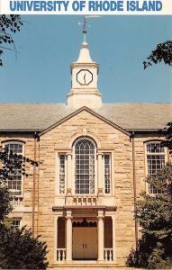 Kingston Rhode Island~University~Green Hall~1970s Postcard