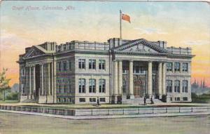 Canada Edmonton Court House 1909