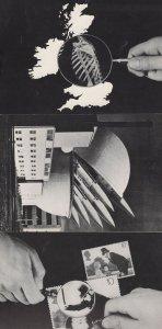 Peter Kennard Policeman Skeleton 3x Anti War Political Postcard s