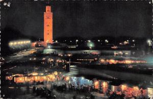 Morocco Night at Marrakesch Nuit a Marrakech Eglise Church