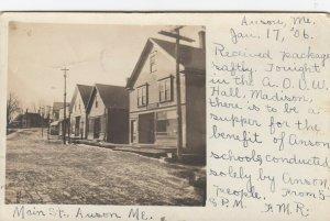 RP; ANSON , Maine , 1906 ; Main Street