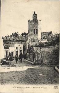 Tunisie CPA MONASTIR (Tunisie) Rue de la Reunion (153362)