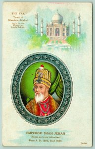 Idana Kansas~Gentry & Son~Taj Mahal~Shah Jehan~1910 India Tea Advertising PC