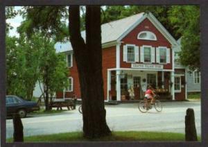 VT View of Village Store GRAFTON VERMONT PC Postcard
