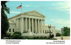 1980's The Supreme Court Building Washington D.C. PC1981