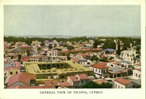 cyprus, NICOSIA, General View (1950s) Postcard